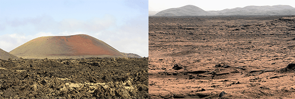 Lanzarote assomiglia a Marte