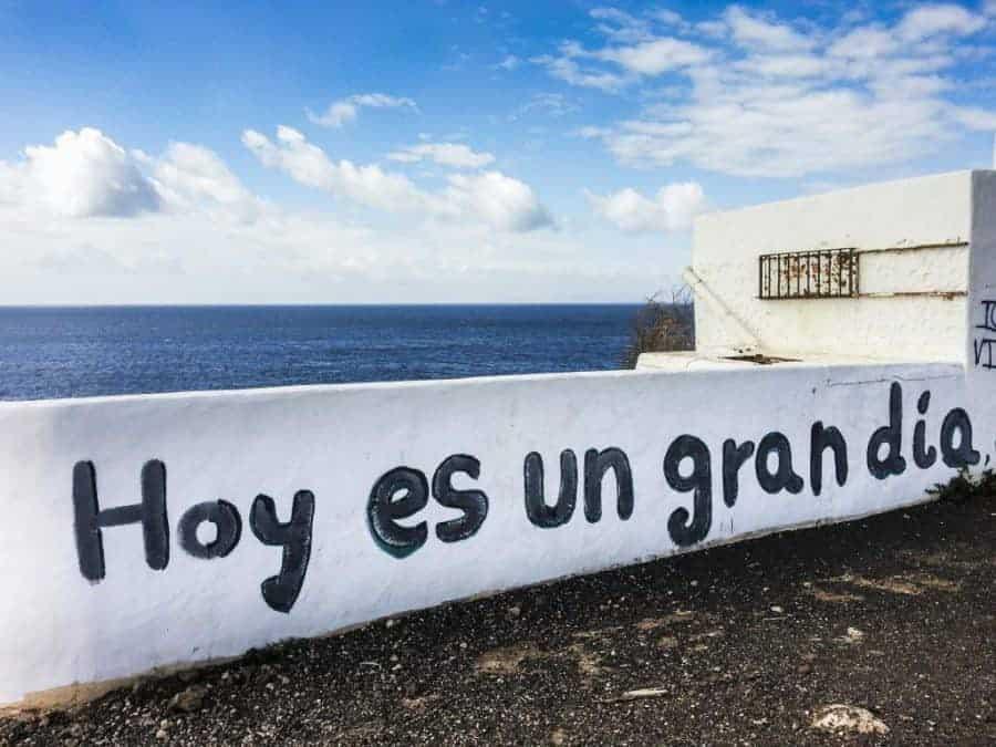 Lanzarote hoy es un gran dia