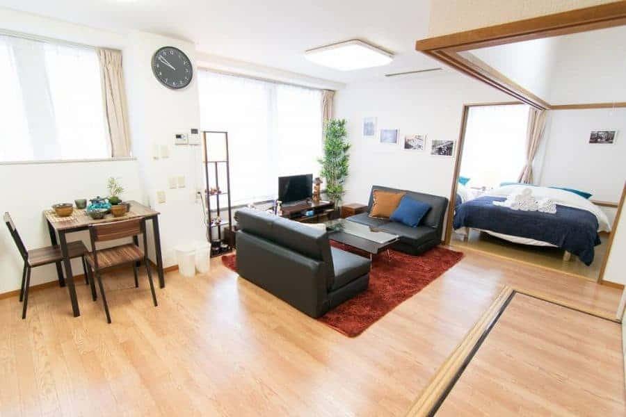 Giappone dove dormire in appartamento