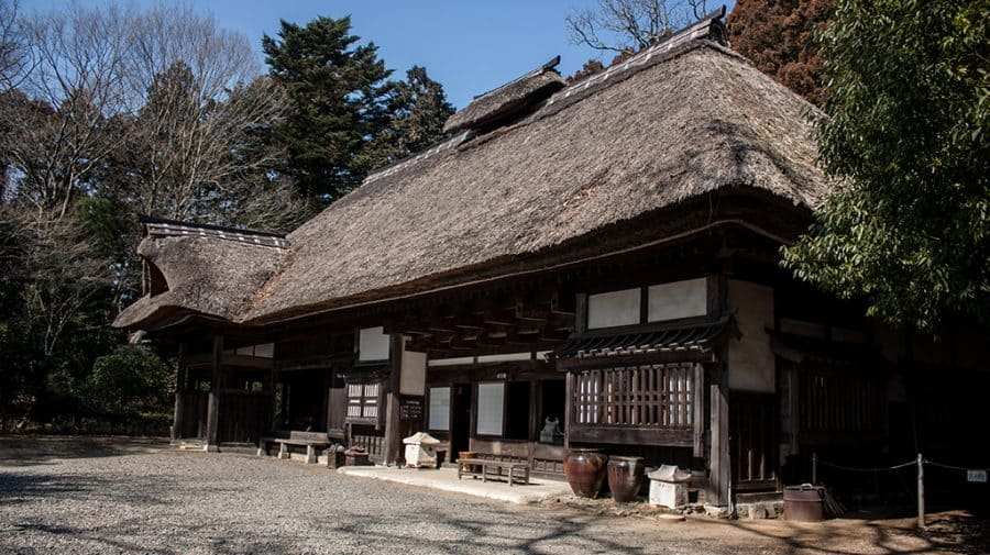 la antica casa di Shoji Hamada a Mashiko