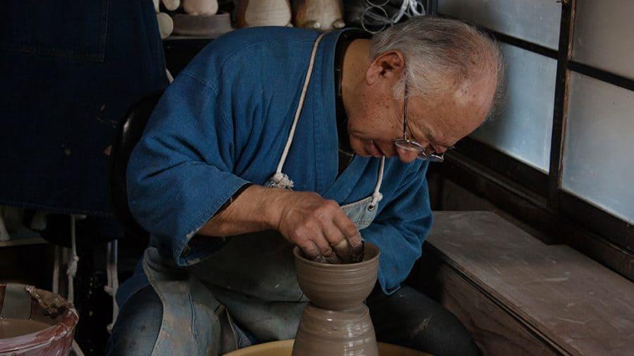 laboratorio di ceramica a Mashiko