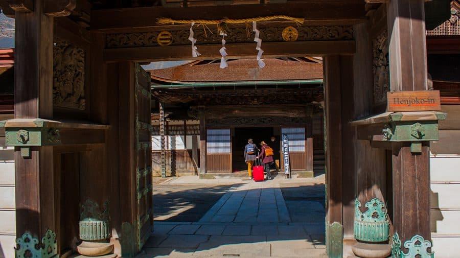 Koyasan dormire in un tempio buddista