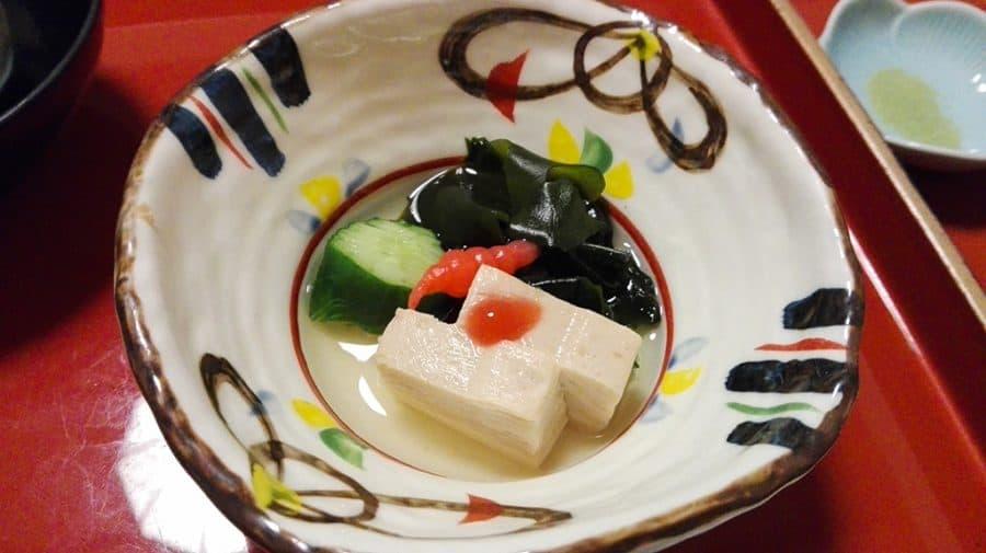 Mangiare in un tempio buddista, la cucina vegetariana