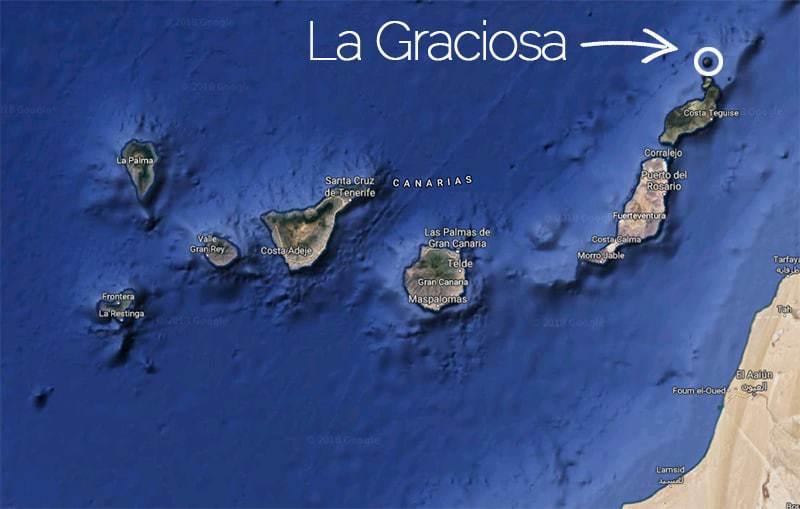 La Graciosa, ottava isola delle Canarie