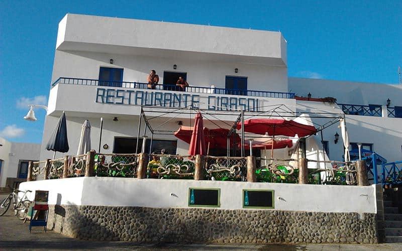 La Graciosa, ristoranti dove mangiare