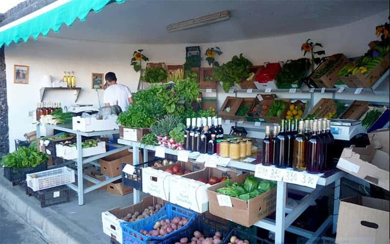 Mercato di Mancha Blanca, Tinajo