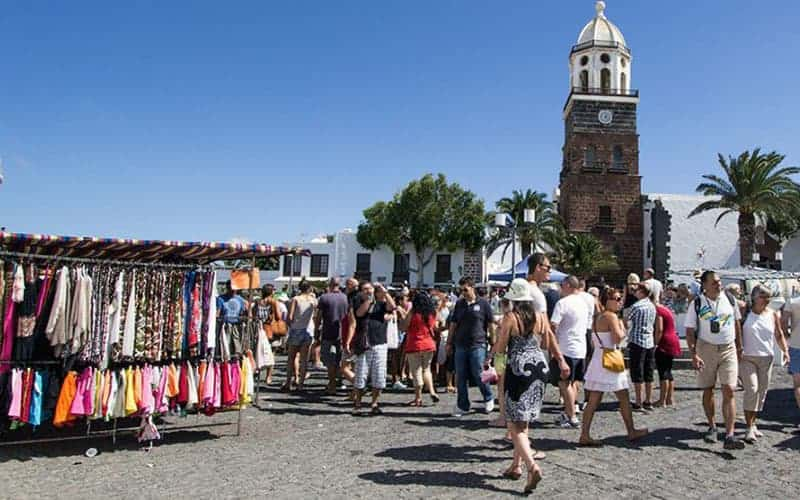 Mercatino domenicale di Teguise a Lanzarote