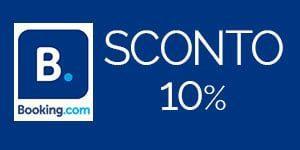10% di sconto per il tuo soggiorno con Booking.com