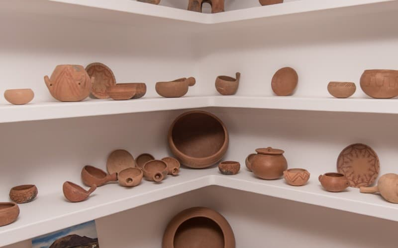 Esposizione di ceramica al Museo del Campesino
