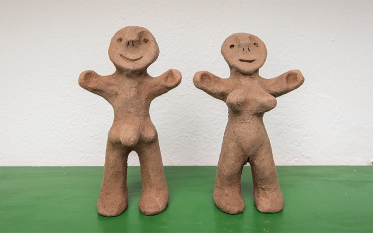 Novios Mojon Lanzarote ceramica