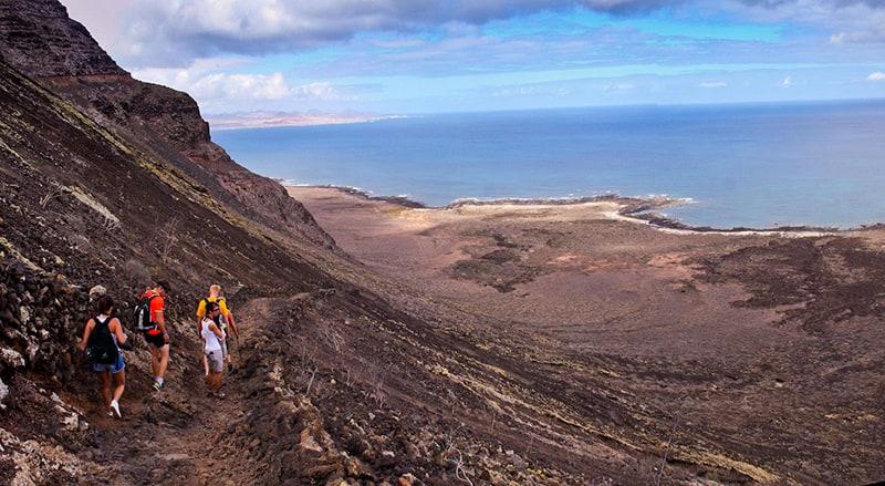 trekking Los Gracioseros a Lanzarote