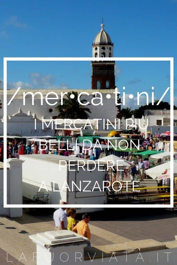 Lanzarote mercatini più belli