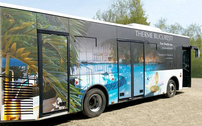bus navetta gratuita Terme Bucarest